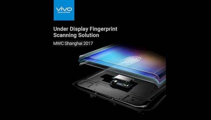 Vivo under display fingerprint scanner