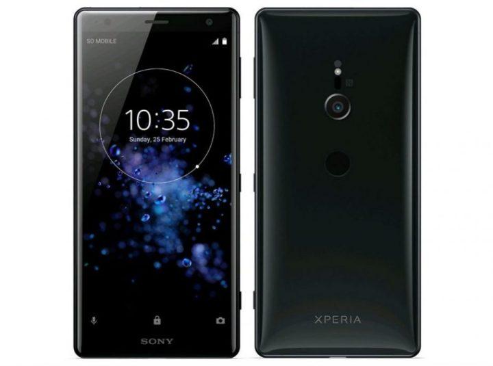 Sony Xperia XZ2 Design2
