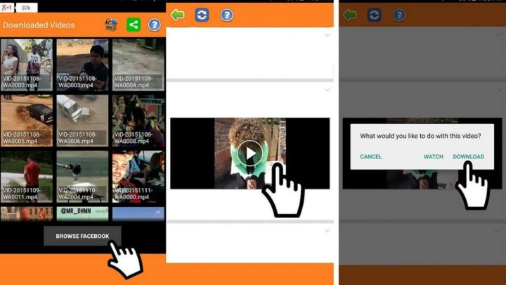 Cara mudah download video di facebook 1