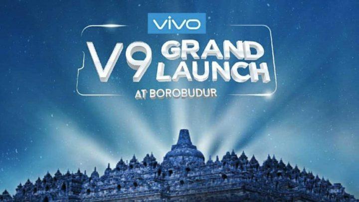 Vivo V9 at Borobudur