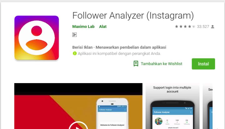 Follower Analyzer (Instagram)