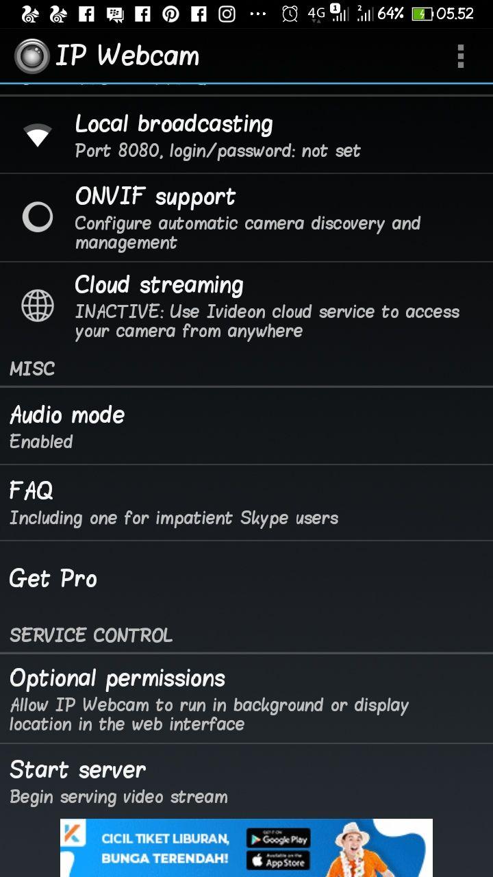 Android Sebagai CCTV