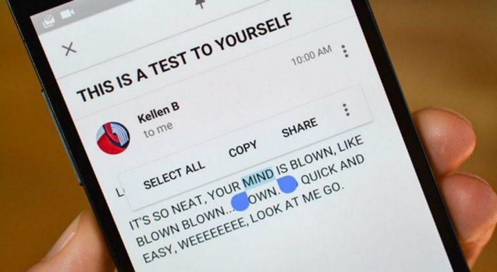 Cara Mudah Copy Paste Teks Pada Smartphone Android 2