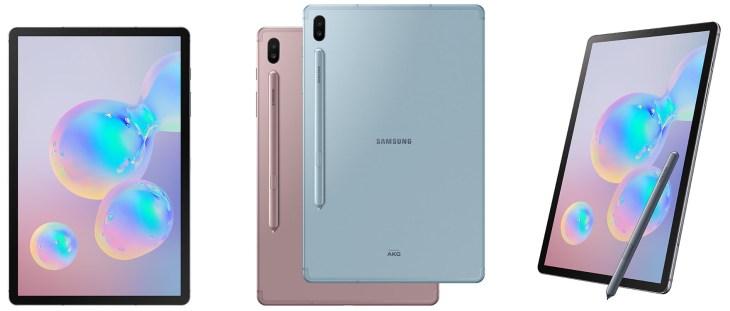 Samsung Galaxy Tab S6 Ansichten