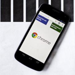 Mengubah Ukuran Teks d Google Chrome Android