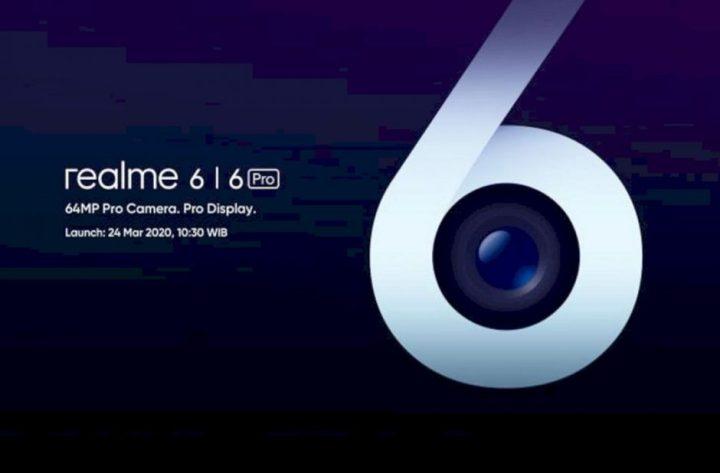 Peluncuran Realme 6 Series di Indonesia