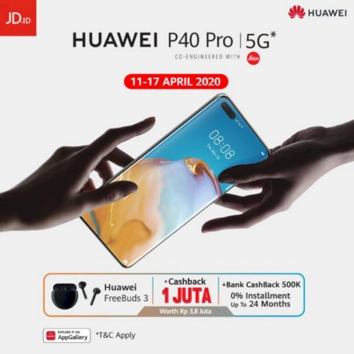 Pre Order Huawei P40 Pro
