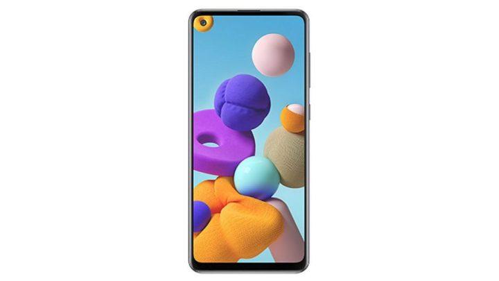 Render Samsung Galaxy A21s Bocor