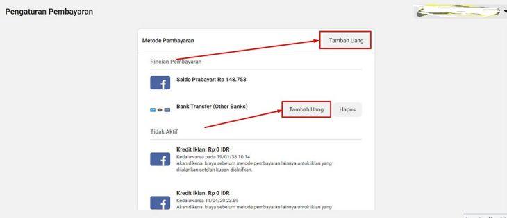 Cara Melakukan Pembayaran di Facebook