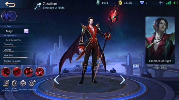 Hero Mage Cecilion