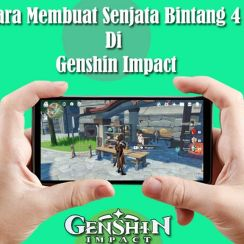 Cara Membuat Senjata Genshin Impact