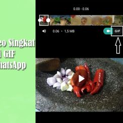 Merubah Video Singkat Menjadi GIF