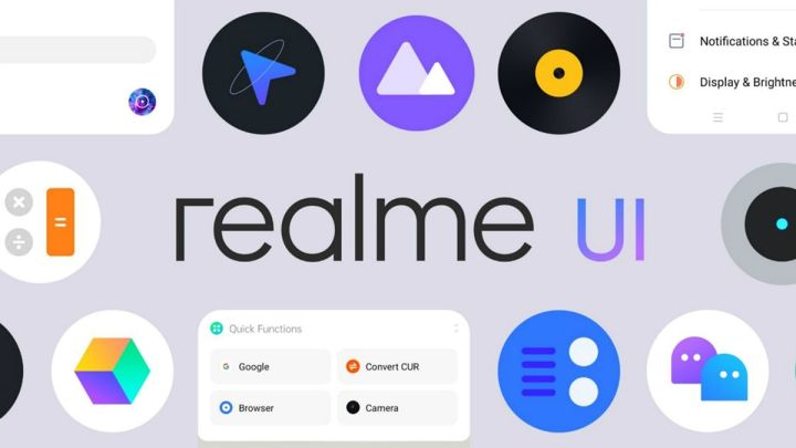 Realme UI Cara Mengganti Mode Layar