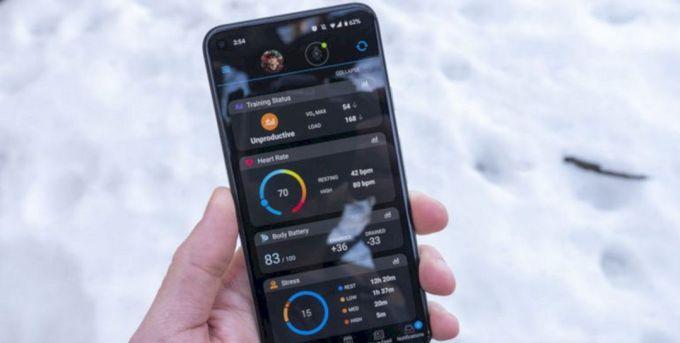 Sinkronisasi dengan Aplikasi Garmin Connect