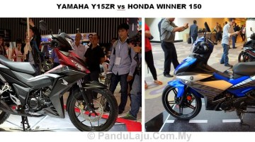 YAMAHA Y15ZR vs HONDA WINNER 150