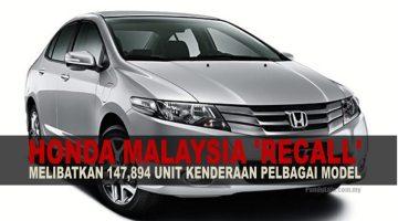 Honda Malaysia Memanggil Semula