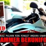 Tidak Sangka Kawan Beruniform Rupanya 'Scammer Motor Piang', Biker Ini Mahu Tuntut Keadilan!