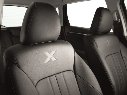 X Edition models fitted with Half-Leather Seats to provide extra comfort