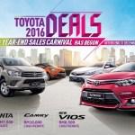 Promosi Akhir Tahun Toyota Kembali - Tawaran Rebat Tunai Hingga RM10,000