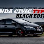 Honda Civic Type-R Generasi-4 Tutup Buku Dengan 'Black Edition', Cuma 100 Unit Dikeluarkan