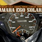 Sah, Skuter Yamaha Ego Solariz Bakal Lancar Ahad Ini!