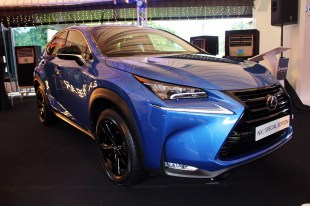 Lexus NX200t Special Edition and 200t 2017.09