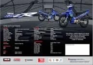 Brosur Yamaha 125ZR MotoGP edisi terhad