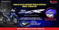 Yamaha 125ZR MotoGP edisi terhad