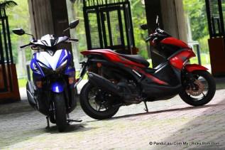 Tunggang Uji Yamaha NVX 155 Malaysia_PanduLaju (5)