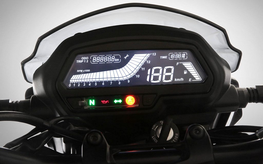 meter Modenas Dominar 400 Malaysia