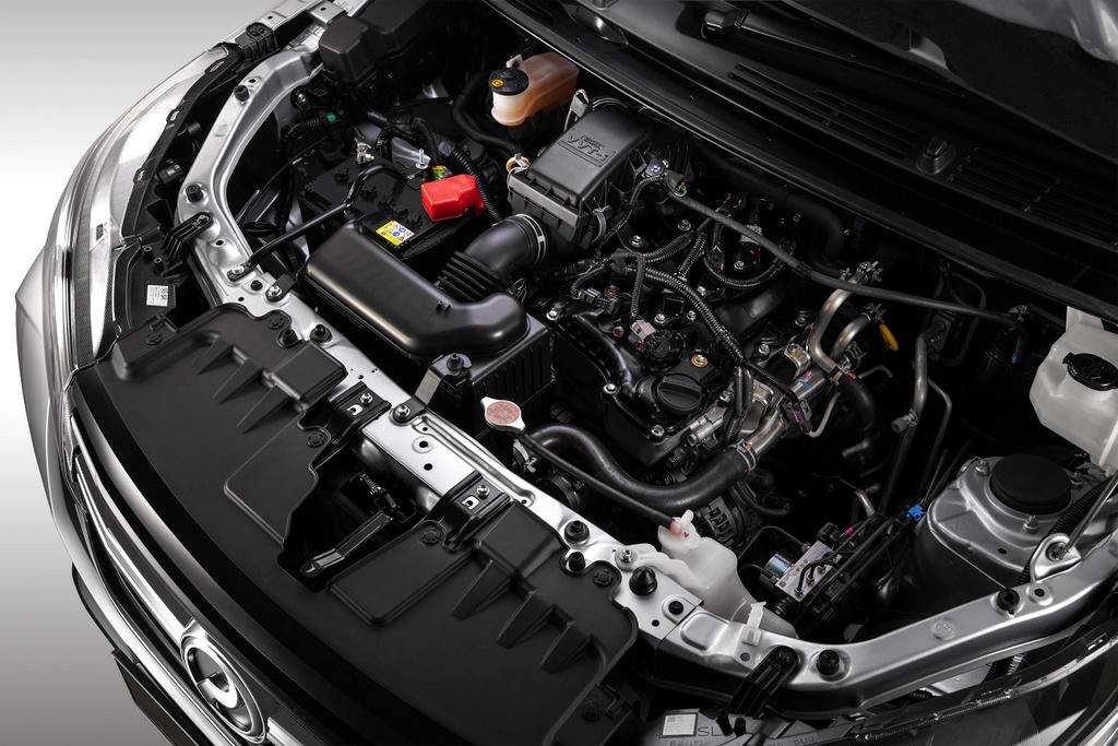 enjin Perodua Aruz