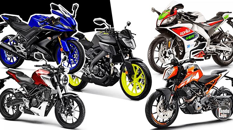 Inilah 5 Sportbike 125cc yang Boleh Buat Anda Geram dan Merenyam!