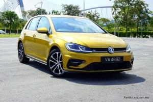 Pandu Uji Volkswagen Golf R Line MK7.5