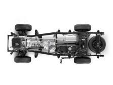 Casis badan-atas-frem Mitsubishi Pajero
