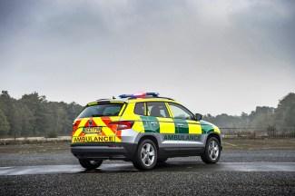 Karoq ambulance