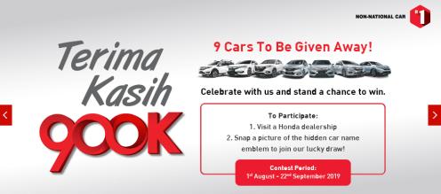 honda-malaysai-900000th-unit-milestone-campaign-3