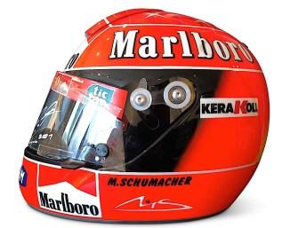 michael schumacher 2001 ferrari helmet 2