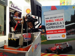 Participate in the exciting Shell Helix Time Attack Challenge on a 3D Motion Simulator_3