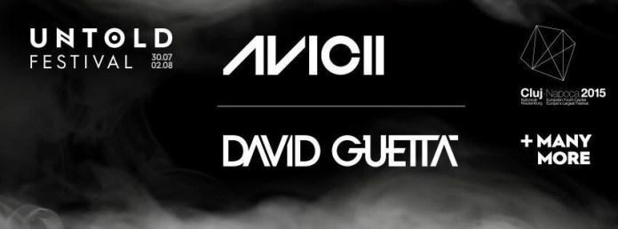 Avicii si David Guetta la Untold Festival
