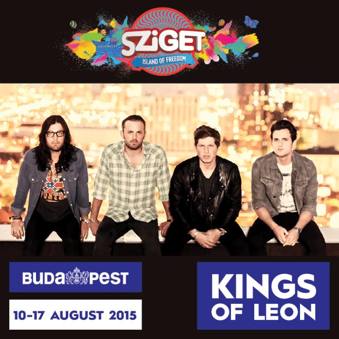 Kings of Leon @ Sziget Festival 2015