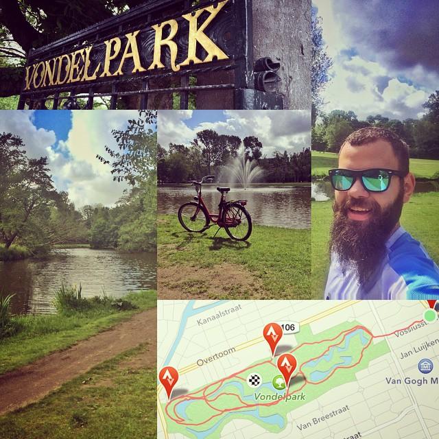 #RunInAmsterdam - Vondel Park