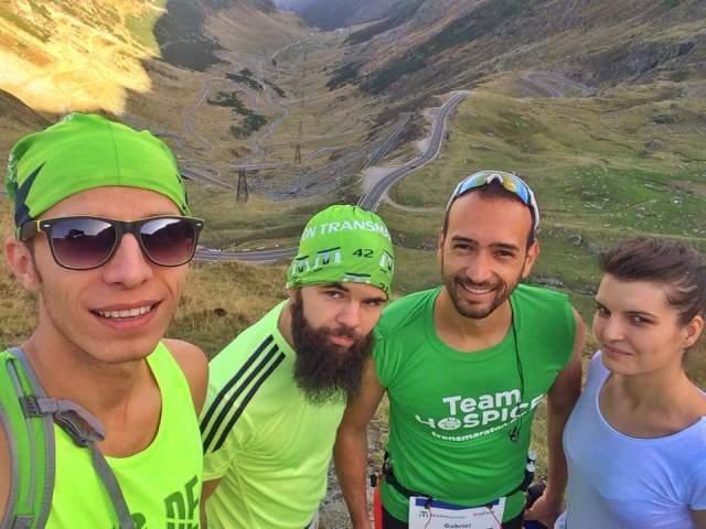 Echipa 321sport la Transmaraton