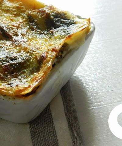 Lasagna vegetariana senza glutine