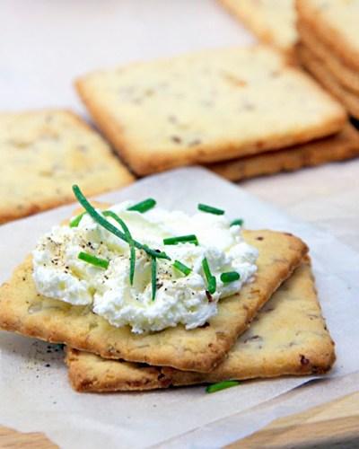 Crackers senza glutine homemade