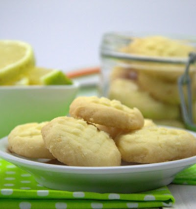 Fork biscuits senza glutine  al limone