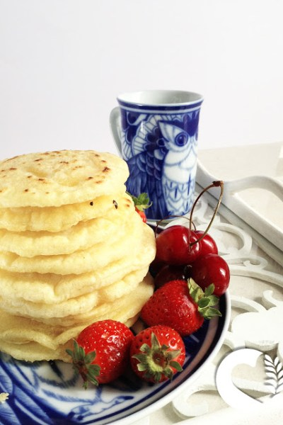 Pancakes vegani e senza glutine senza latte senza uova