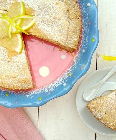 Crostata senza glutine con crema al limone senza latte