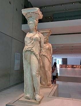Cariatidi Atene Museo