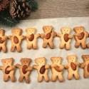 Biscotti orsetti con le mandorle senza glutine