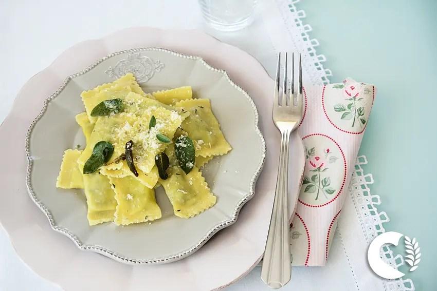 Ravioli con ricotta e spinaci Schaer 2
